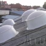 kruhové světlíky - Minas Innovation Park